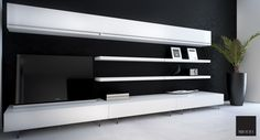 SORIANO LIVING SHELF WHTE | Miotto Design