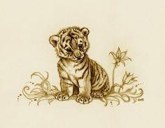 ec3d3969a Tiger Cub 2 by EsthervanHulsen on DeviantArt Lion Cub Tattoo, Cubs Tattoo, Baby  Tigers