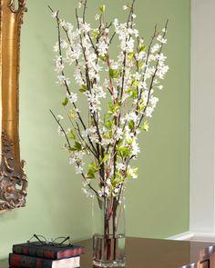 Unique White Silk Cherry Blossoms 30 in $89