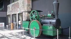 Dampfmaschine in der Halle 32 in Gummersbach