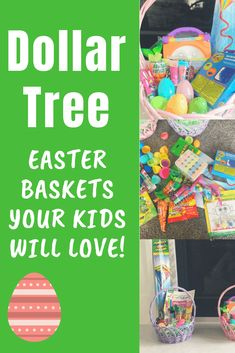 Save money on Easter this year by using these Dollar Tree Easter basket ideas! I was able to give my three kids the perfect Easter, for cheap! Easter Activities, Easter Crafts For Kids, Easter Gift, Happy Easter, Cheap Easter Baskets, Boys Easter Basket, Easter Holidays, Dollar Tree, Basket Ideas