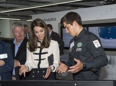 Kate Middleton Photos - Catherine, Duchess of Cambridge, patron of the 1851 Trust, visits the Land Rover BAR team, who are challenging for the 2017 America's Cup, on May 20, 2016 in Portsmouth, England. The Duchess of Cambridge is launching the 1851 Trust's two sailing projects and meeting people involved in the project. Afterwards she will open the 'Tech Deck' Education Centre at the heart of the base. - The Duchess Of Cambridge Visits Land Rover BAR And The 1851 Trust