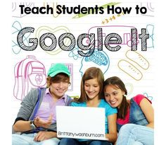 """Every school year I start my 4th and 5th grade classes with a unit about online research. I know there are some great """"kid-friendly"""" search engines out there, and we do discuss them, but I think all students should know how to successfully use google."""