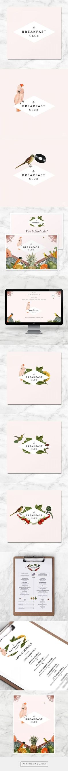 Le Breakfast Club Branding on Behance
