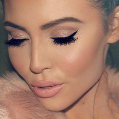 Blush pink nude makeup look Great for everyday looks. Makeup Goals, Love Makeup, Makeup Inspo, Makeup Inspiration, Makeup Tips, Subtle Makeup, Unique Makeup, Stunning Makeup, Clean Makeup