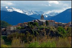 """136/366 THE WORLD--The Pyrenees, Spain  """"Mountain Village"""" by TravelsWithDan, via Flickr"""