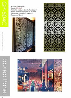 These divider panels are made of MDF material with CNC machine cut out  . They are available in different shapes and various colors, which perfectly fit to modern interior design. More information about these room dividers you could find log on to www.seriessupplies.com
