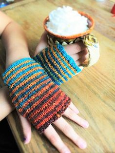 Wrist warmers are Hand knit, cozy, and the best part about them is that you will wear them all day at the office or at home. They are not at all