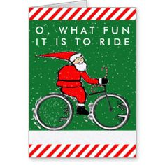 christmas cards ideas with bicycles - Google Search