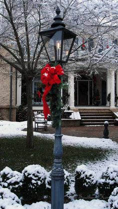 Dreaming of a White Christmas {Porch} - Our Southern Home