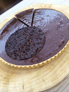 Chokolade-praline-tærte