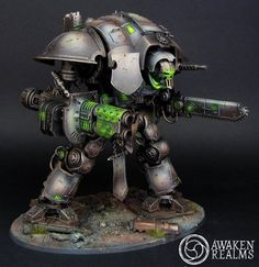 The Internet's largest gallery of painted miniatures, with a large repository of how-to articles on miniature painting Warhammer 40k Necrons, Warhammer 40k Figures, Warhammer Paint, Warhammer Models, Warhammer 40k Miniatures, Chaos Legion, Warrior Drawing, Tabletop, Imperial Knight