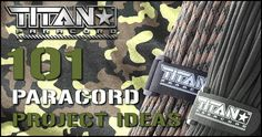 101 Paracord Project Ideas