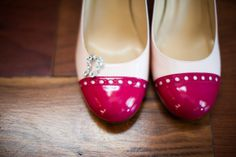 @Kate Mazur spade new york wedding shoes. K. Mari Photography. #weddingdetails @Erica Goldfine