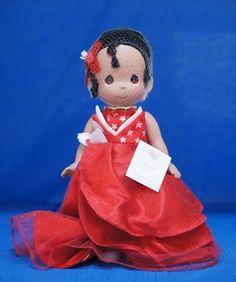 "Princess Frog Tiana 2014 Freedom 12"" Doll Precious Moments Disney 5838 Signed #PreciousMoments #VinylDolls"