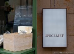 Speceriet, a less formal sister restaurant locate next door to Michelin-starred Gastronomik in Stockholm - worth a visit!