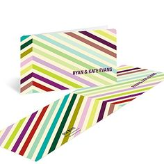 Chic Chevron - Personalized Thank You Cards