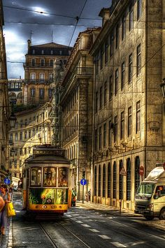 Lisboa... your streets are paved with magic... with ageless enchantments... Let me come walk in the mystery of you... xo