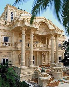 Classic House Design, Dream Home Design, Modern House Design, Dream Mansion, Mansion Interior, Mansions Homes, Luxury Mansions, Luxury Homes Dream Houses, Dream House Exterior