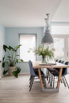 ░▒▓ Beautiful Elegant ▓▒░ ▓ Homes, Bathroom, Kitchen & Outdoor Dining Room Blue, Dining Room Design, Apartment Interior, Interior Design Living Room, Interior Inspiration, Room Inspiration, Beautiful Interior Design, Paint Colors For Living Room, Room Decor