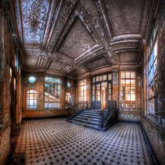Abandoned Places Photograph - Abandoned Beauty by Marcus Klepper Old Abandoned Buildings, Abandoned Property, Abandoned Castles, Abandoned Mansions, Old Buildings, Abandoned Places, Architecture Old, Beautiful Architecture, Beautiful Buildings