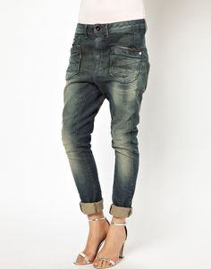 Gstar Gipzon Loose Tapered Jeans - Lyst