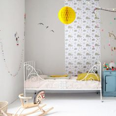 Love this bed in a toddler girl's room