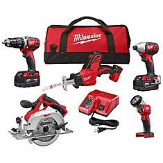 Keep your cordless tools organized at home with the help of this Milwaukee Lithium-Ion Cordless Combo Kit with Free Circ Saw and Radio. Cordless Hammer Drill, Cordless Tools, Milwaukee Tools, Milwaukee M18, Circular Saw Blades, Thing 1, Reciprocating Saw, Led Flood Lights, Led Work Light