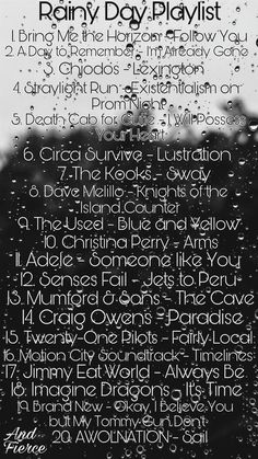 Rainy Day Playlist | And Fierce #music #rain #rainydayplaylist #weather #rainyday #mood