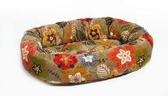 Bowsers Garden Microvelvet Donut Dog Bed