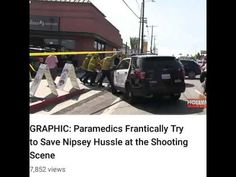 Nipsey Hussle shooting ritual:It's just another luciferian psyop