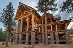 Another log cabin home that I love!