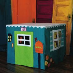 The Card Table Playhouse Pattern - Empty Bobbin Sewing Studio