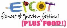 FULL MENUS for the 2014 Epcot Flower and Garden Festival! #DisneyFood #WDW #DisneyWorld