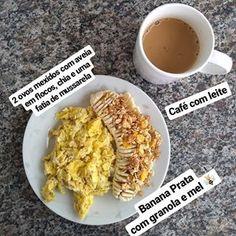 Healthy Breakfast Snacks, Breakfast Dessert, Healthy Eating, Good Morning Breakfast, Tumblr Food, Good Food, Yummy Food, Sports Food, Daily Meals