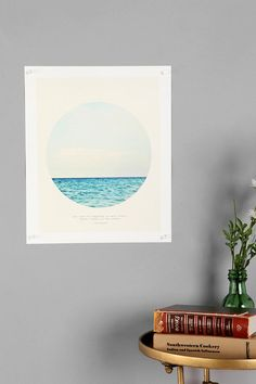 "UO poster ""The cure for anything is salt water: sweat, tears, or the sea."""
