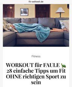 Tipps um fit zu bleiben – ganz nebenbei: Workout für Faule – . Oder auch begannt als Sport für faule Frauen. Hast du einfach keine Lust auf Sport oder bist nach der Arbeit zu kaputt, um dich noch ins Fitnessstudio zu quälen. Dann kann ich dir dieses absolut mega effektive Workout für Faule und meine EXTRA TIPPS empfehlen. #Workout #faule #Frauen #Alltag #einbauen