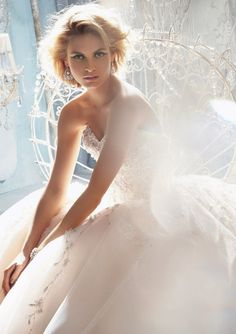 If you're not prepared to fall head-over-heels for some gorgeous wedding dresses (perhaps you've already found the gown of your dreams), then I'd suggest you look away. Because we're about to show you one show-stopping, jaw-dropping, crazy beautiful bridal collection fromMori Lee by Madeline Gardner. You'll be adding another collection from this bridal designing house read more...