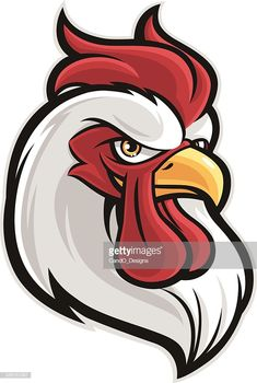 rooster-head-vector-id528151367