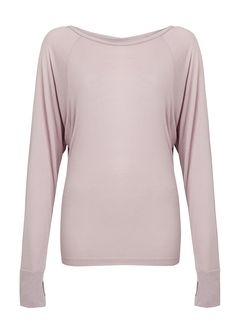 This slouchy yoga top is a versatile layer for warm-up, cool-down and studio-to-street transitions. Crafted in breathable fabric, it has a casual, loose fit through the body and tapers at the hem so it stays in place during vinyasas. Batwing sleeves give you plenty of space around the shoulders for a comfortable range of motion, and its shorter length looks beautiful over longer vests and tees.
