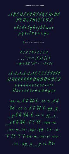 sheilla_hand drawn fonts bundle #font #lettering #handdrawn