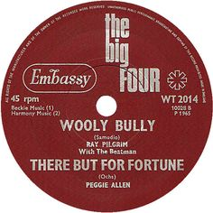 The Big Four (Wooly Bully / There But For Fortune) - Ray Pilgrim with The Beatmen / Peggie Allen (WT2014) Jul '65