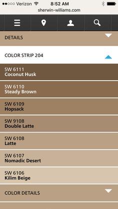 Sherwin-Williams Latte SW 6108 | New Texas house ideas ...