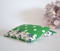 lavender sachets in blue and green patchwork  by xxxRedStitcHxxx, €10.00