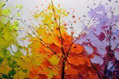 Original pintura abstracta pintura texturizada por xiangwuchen