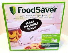 NIP BLACK FOODSAVER Handheld Series Vacuum Sealer + Extras NEW!!
