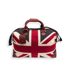 Balmoral Weekend Bag. By Newport Collection.  uk  unionjack  Weekendbag   newportcollection df394e6c0e3bb