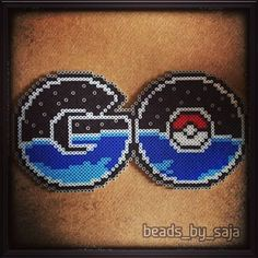 Pokemon Go perler beads by beads_by_saja