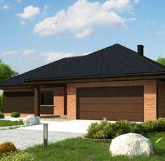 Z282 to wyjątkowy dom z kategorii projekty domów tanich w budowie Modern House Plans, Outdoor Decor, Home Decor, Houses, Projects, Modern Home Plans, Interior Design, Home Interiors, Decoration Home
