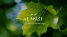 Al-Wasi The All-Comprehending